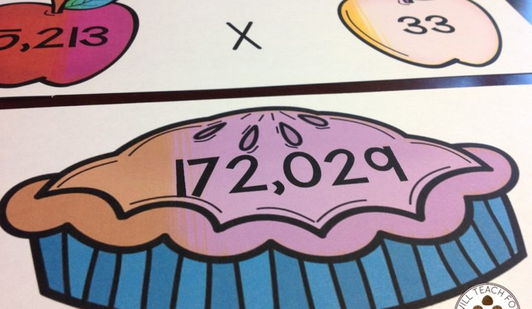 Multiply for Apple Pie